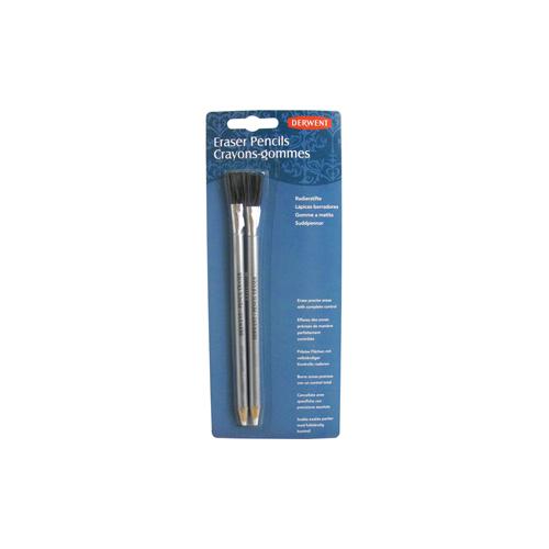 Derwent Fırçalı Kalem Silgi 2 Adet Blister
