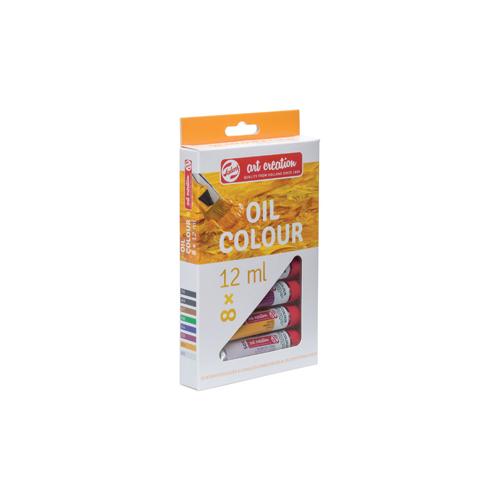 Talens Artcreation Oil Colour 8 Renk Yağlı Boya