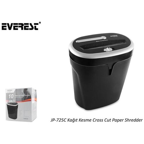 Everest Jp-725 Kağıt İmha Makinası (Çapraz Kesim)