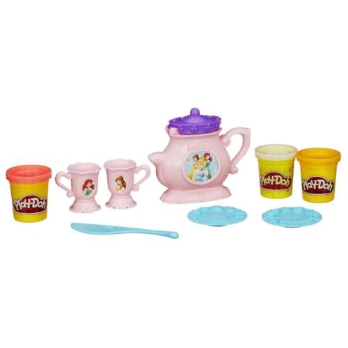 Play-Doh Prenses Çay Seti