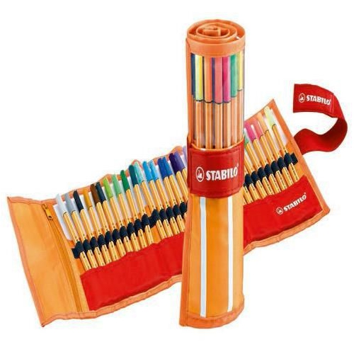 Stabilo Point 88 Rollerset 25+5 Floresan Renk Keçe Uçlu Kalem