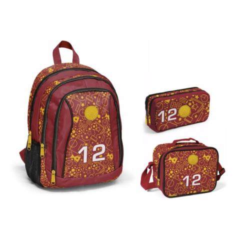 Yaygan Sarı-Kırmızı İlkokul Çanta Seti