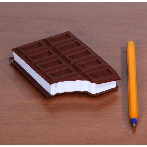 Pratik Çikolata Görünümlü Not Defteri