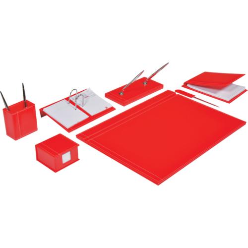 Gıpta 7571 Solid 8 Parça Sümen Takımı - Kırmızı