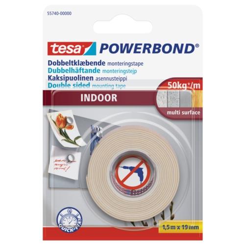 Tesa Köpük Montaj Bandı - Powerbond İç Mekan 1,5m 19mm