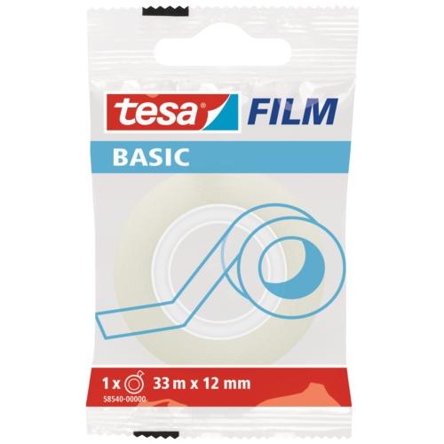 Tesa Basıc Film Şeffaf 33m 12mm