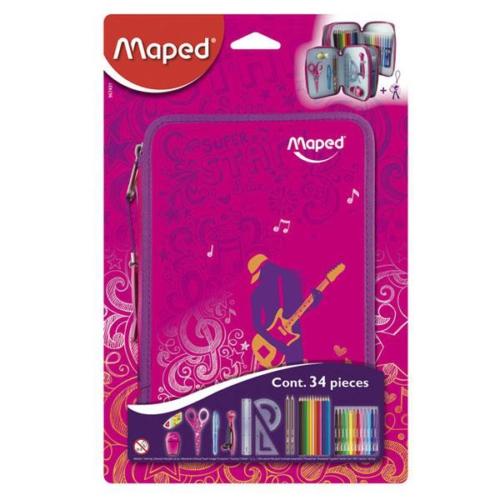 Maped 967431 Kalem Kutusu - Dolu Okul Malzemleri - Dansçılar