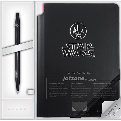 Cross At0625Sd-17/1 Click Star Wars Darth Vader Jel Tükenmez Kalem + Defter Hediyelik Set