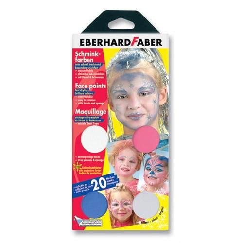 Ebeehard Faber 4 Renk Yüz Boyama Seti(Girly)