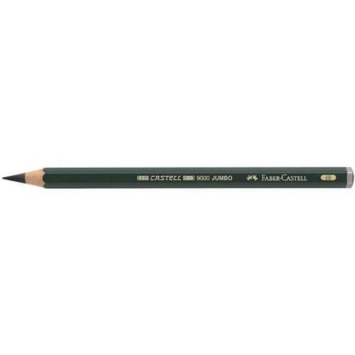 Faber-Castell 9000 Dereceli Jumbo Kurşunkalem 6B