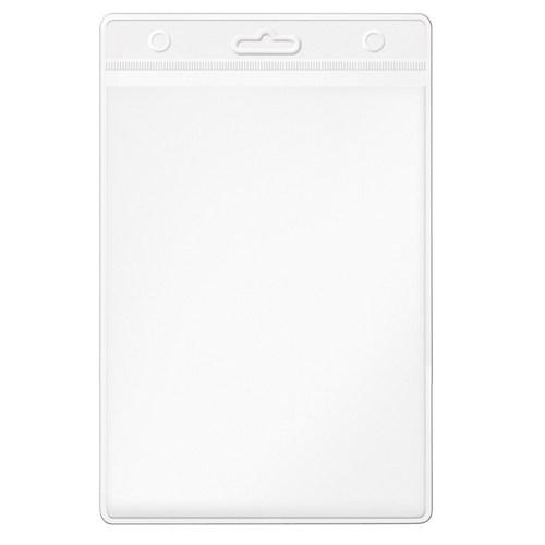 Mas 3514 Plastik Kart- Poşeti Güvenlik Tipi - Dikey-85X115-Şeffaf Başlık - 100 Lü