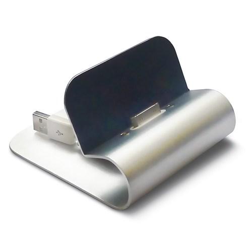 Mas 6622 Şarj Standı - Aluminyum - I Pad –Siyah