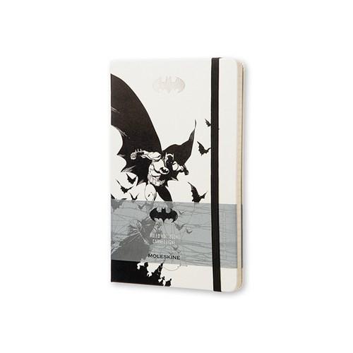 Moleskine Batman Sert Kpk Defter Beyaz Çizg.L-240Sy Leba01Qp060