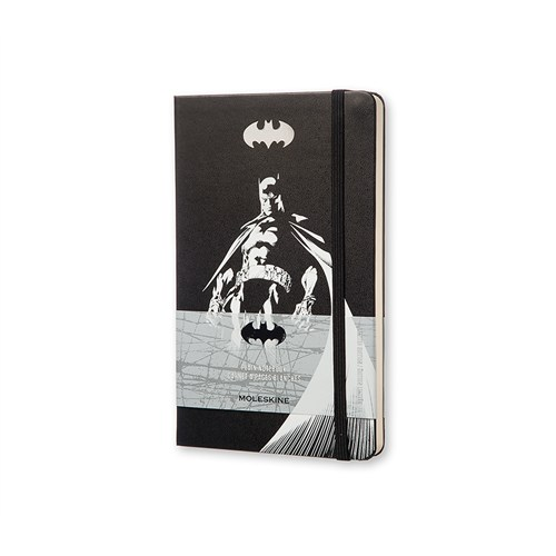 Moleskine Batman Sert Kpk Defter Siyah Düz L-240Syf Leba01Qp062