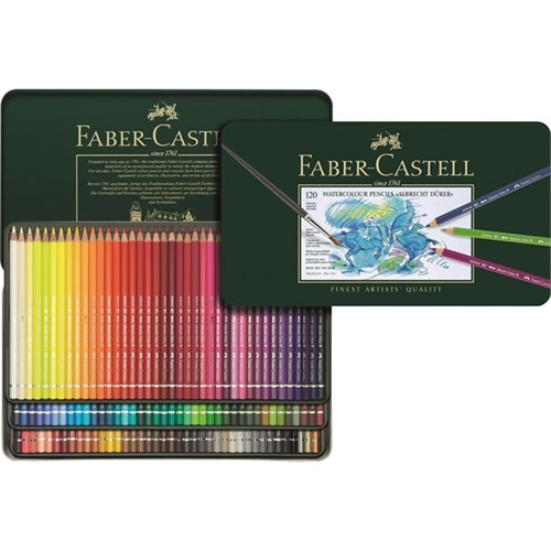 Faber-Castell 117511 120 Renk Aquarell Boya Seti