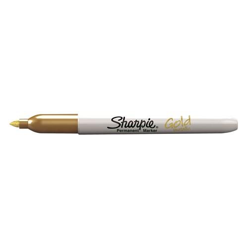 Sharpie Metalik Markör, Altın 12'li paket