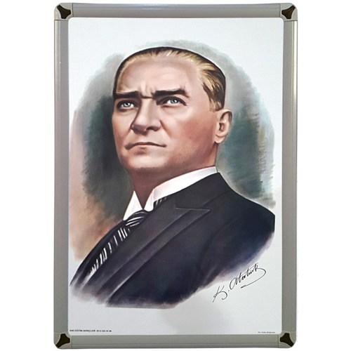 Akyazı 35x50 Atatürk Posteri-1 (Metal Çerçeve)