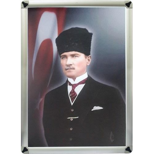 Akyazı 35x50 Atatürk Posteri-2 (Metal Çerçeve)