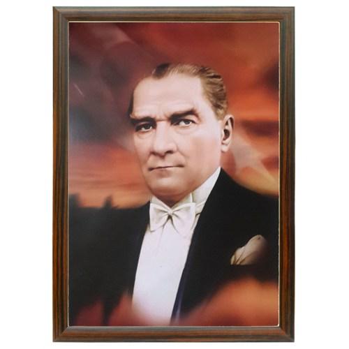 Akyazı 35x50 Atatürk Posteri-5 (Mdf Çerçeve)