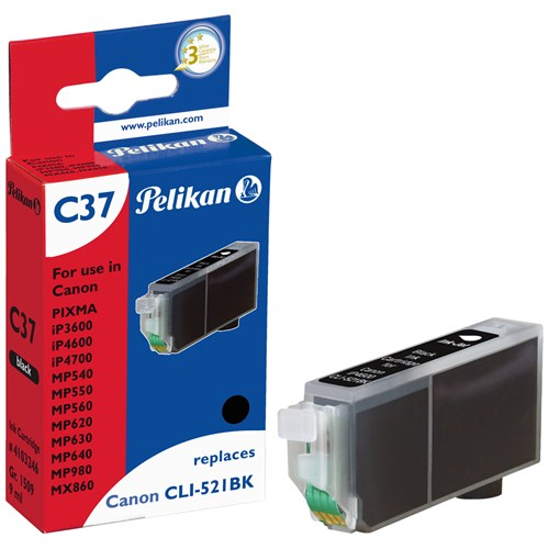 Pelikan Canon Clı-521Bk Siyah Kartuş