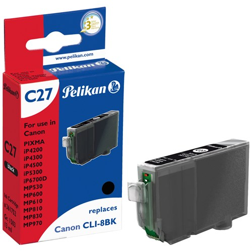 Pelikan Canon Clı-8Bk Siyah Kartuş