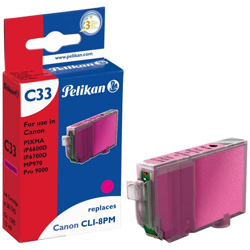 Pelikan Canon Clı-8Pm Açık Magenta Kartuş