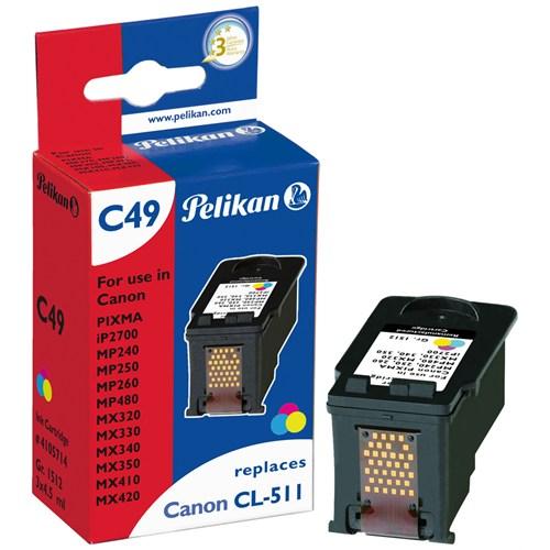 Pelikan Canon Cl-511 Renkli Kartuş