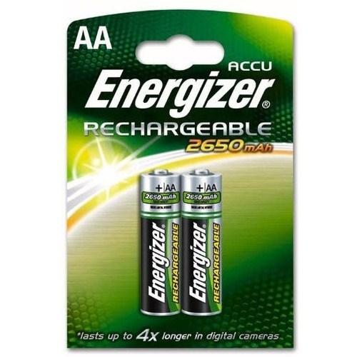 Energizer AA 2'li Şarjlı 2650 Mah Kalem Pil (E15-3648)
