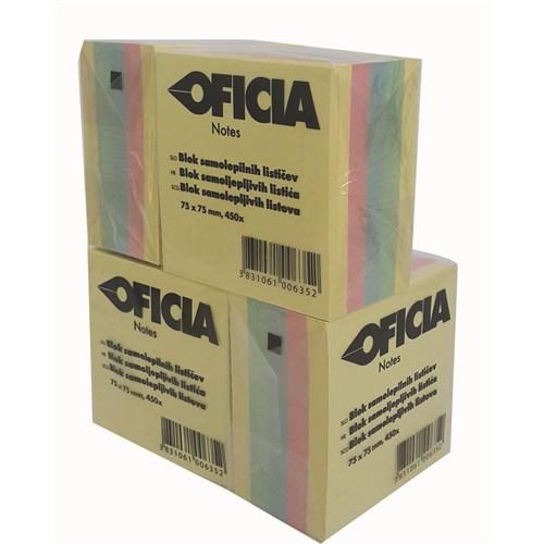 Ofica Not Kağıdı Yapışkanlı Renkli