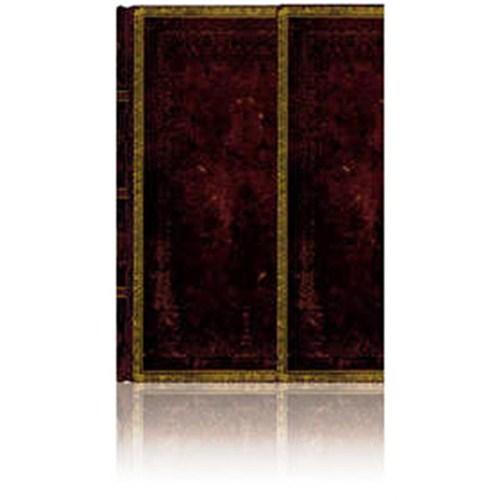 Paperblanks 2-838-6 Black Moroc.Ultra-Çizgili (Ultra – 180 x 230 mm. 144 Sf)