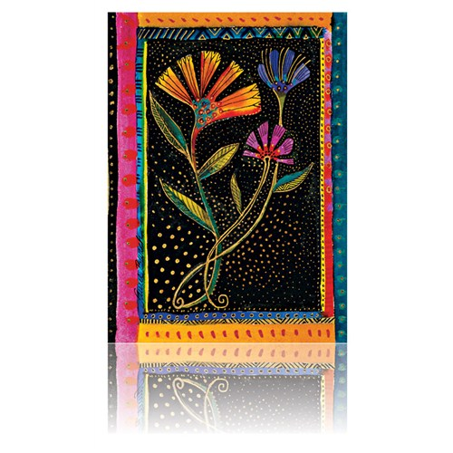 Paperblanks 7-1632-8 Noddıng Blooms Mıcro Düz (Micro – 70 x 90 mm. 384 Sf)