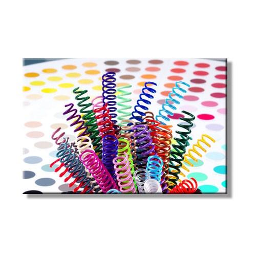 Mapicoil 10 mm Plastik Helezon Spiral Beyaz 100 Lü (235 10 00)