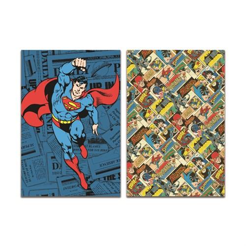 Mynote Superman Trendy Defter 19*26 60 Yp Çizgili SM204-Ç