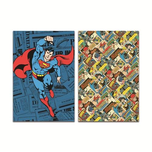 Mynote Superman Trendy Defter19*26 60 Yp Kareli SM204-K
