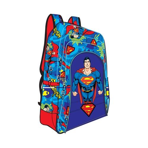 Trendix Superman Chest İlkokul Çantası İki Gözlü TRX-2E-SU1