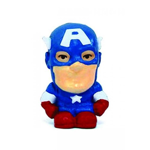 Monogram Captain America Silgi