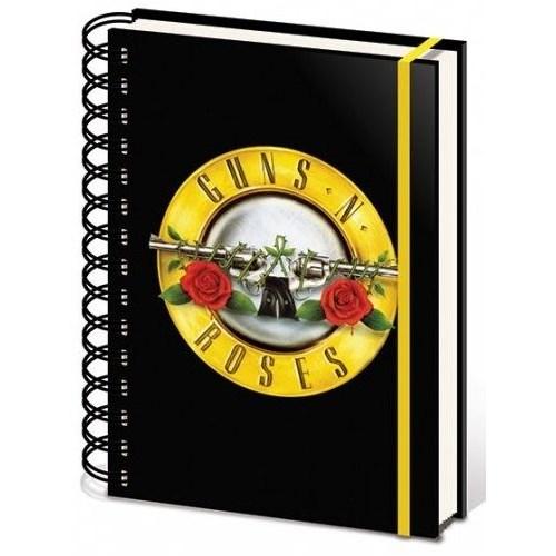 Pyramid International A5 Defter - Guns N' Roses Bullet Logo