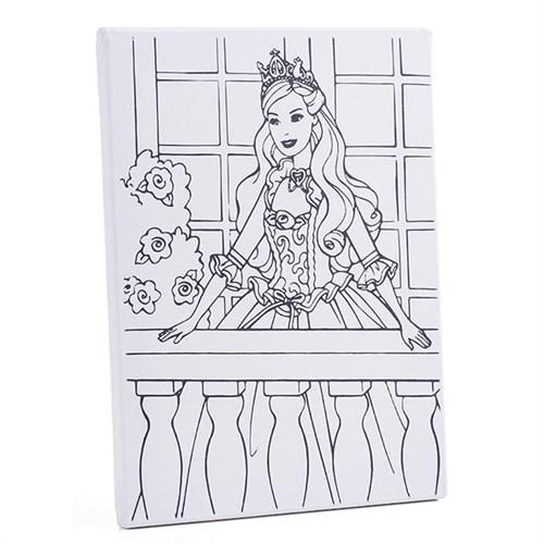 Desenli Tuval 30X40cm - Prenses