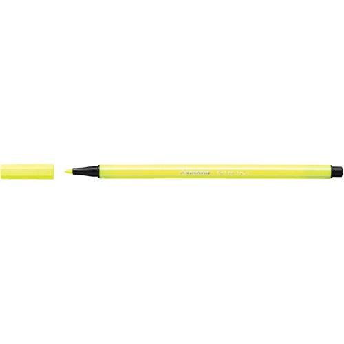 Stabilo Pen 68 - Floresan Sarı 10Li