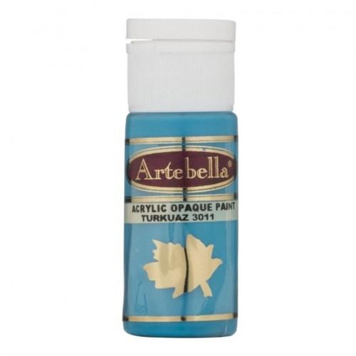 Artebella 30 Cc Turkuaz Opak Boya - 3011