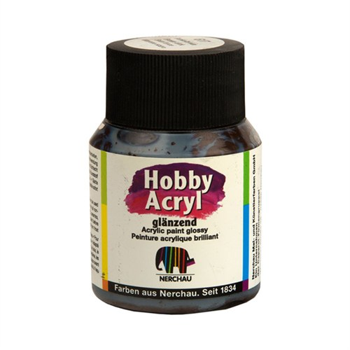 Nerchau Hobby Acryl Koyu Kahverengi Glossy