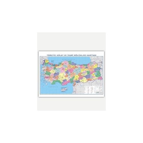 Türkiye Siyasi Harita (100X140)