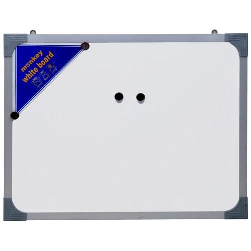 Monkey 80 x 120 Metal Çerçeve Duvara Monte Manyetik Yazı Tahtası Myt080120