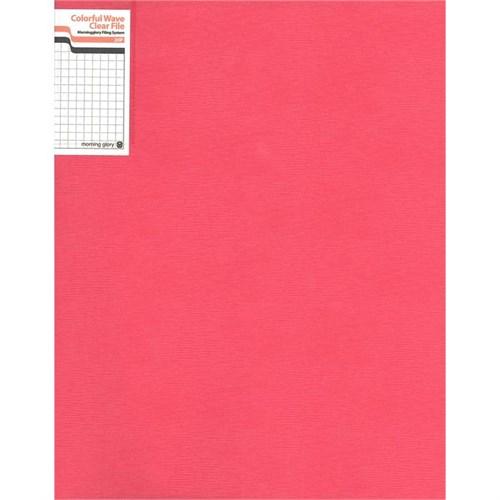 Morning Glory 50200-70391 20'Li Sunum Dosyası Wave Kırmızı