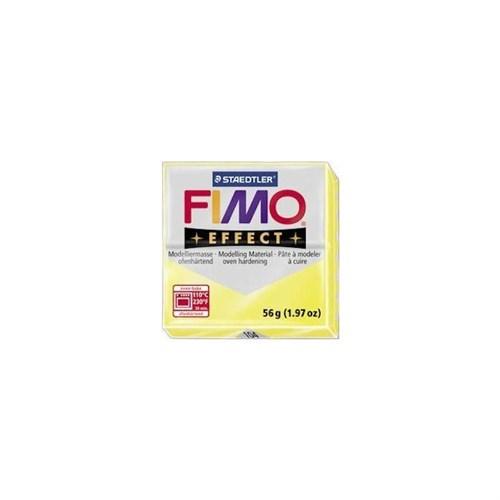 Fimo Effect Transparan Sarı 8020-104 56Gr.