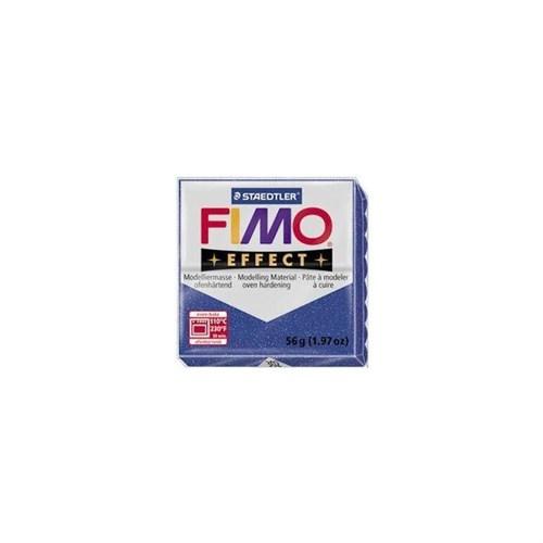 Fimo Effect Pırıltılı Mavi 8020-302 56Gr.