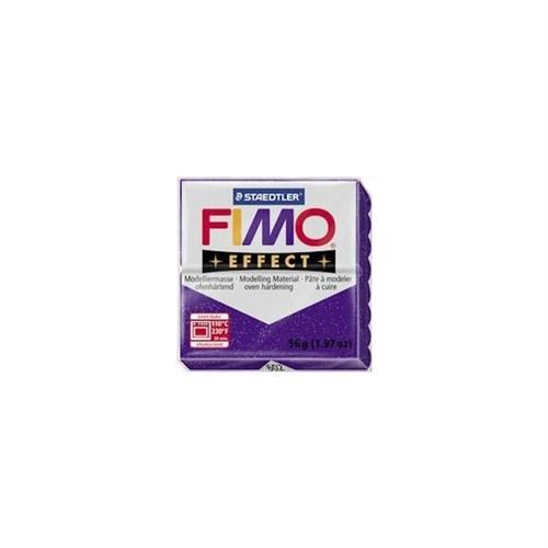 Fimo Effect Pırıltılı Mor 8020-602 56Gr.