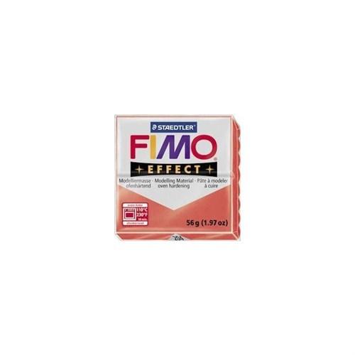 Fimo Effect Transparan Kırmızı 8020-204 56Gr.
