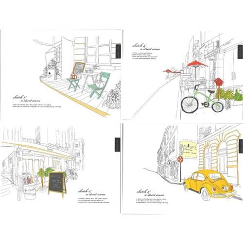 Snc 397-01 Sketch Defteri A4