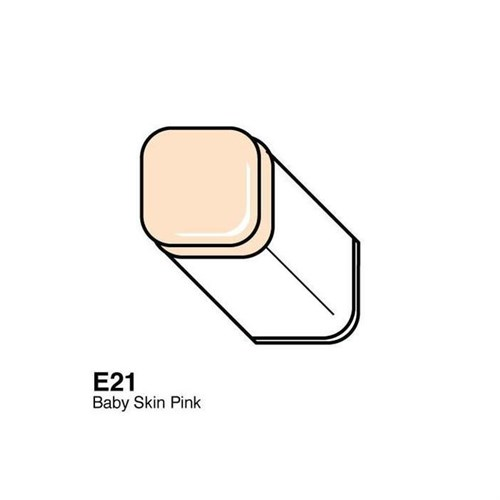 Copic Typ E - 21 Baby Skin Pink